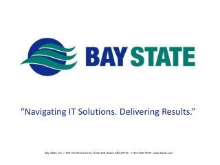 �Navigating IT Solutions. Delivering Results.�