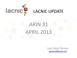 LACNIC UPDATE