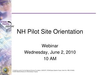 NH Pilot Site Orientation