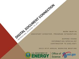 Digital Document Connection