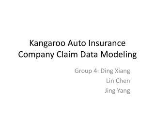 Kangaroo Auto Insurance Company Claim Data Modeling