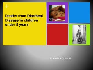 Deaths from Diarrheal Disease in children under 5 years