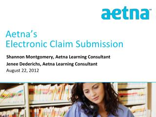 Aetna's  Electronic Claim Submission