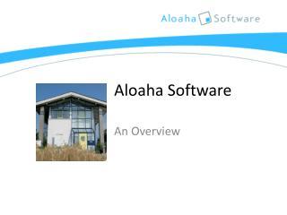 Aloaha  Software