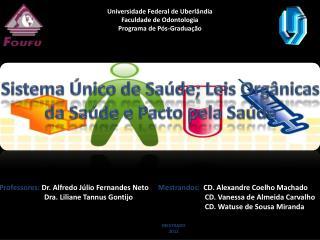 Universidade Federal de Uberlândia Faculdade de Odontologia Programa de Pós-Graduação