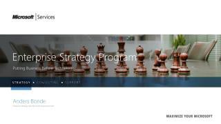 Enterprise Strategy Program