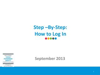 Step –By-Step:  How to Log In