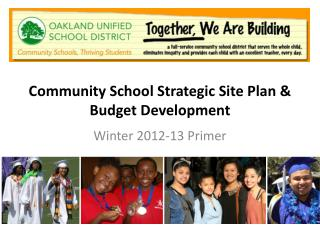 Community School Strategic Site Plan & Budget Development
