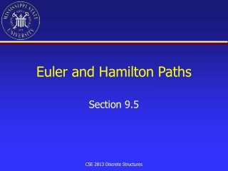 Euler and Hamilton Paths