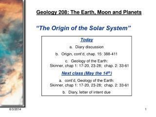 GEOL 208 Lecture 1b