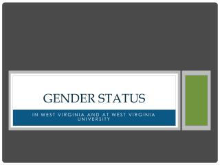 Gender Status