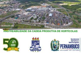 RASTREABILIDADE DA CADEIA PRODUTIVA DE HORT�COLAS