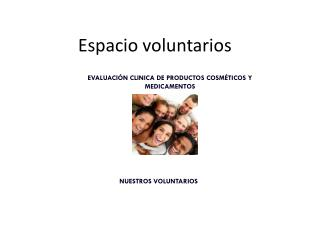 Espacio voluntarios