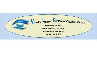 3459 Depew Ave. Port Charlotte, FL 33952 Phone:941.625.8501 Fax: 941.625.8032
