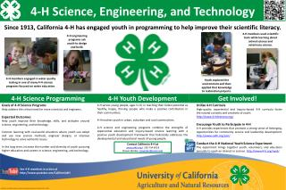 4-H Science, Engineering, and Technology