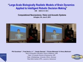 Neuro-Robotics