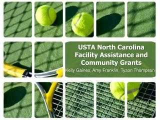 USTA North Carolina Facility Assistance and Community Grants