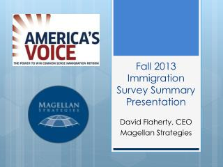 Fall 2013 Immigration Survey Summary Presentation