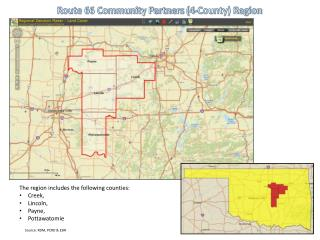 Route 66 Community Partners (4-County) Region