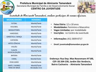Prefeitura Municipal de Almirante Tamandar�