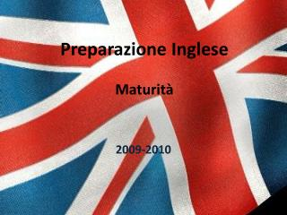 Preparazione Inglese Maturità