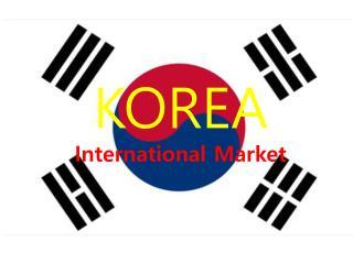 KOREA International Market