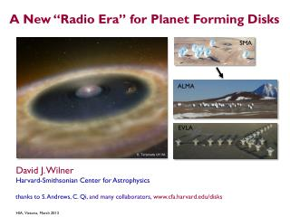 "A New ""Radio Era"" for Planet Forming Disks"