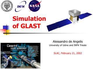 Simulation of GLAST