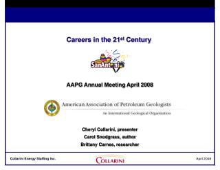 Careers in the 21st Century