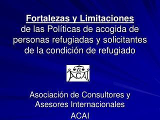 Asociación de Consultores y Asesores Internacionales ACAI