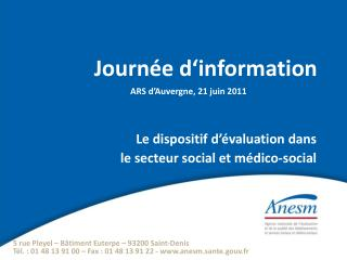 Journ e d information