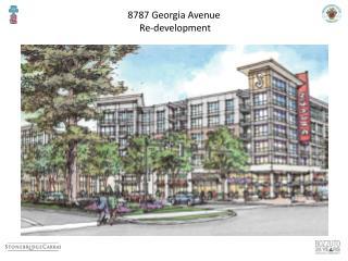 8787 Georgia Avenue  Re-development