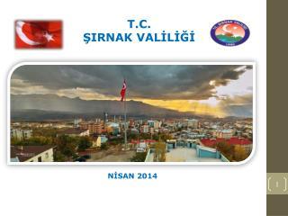 T.C. ŞIRNAK VALİLİĞİ