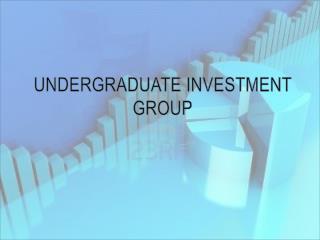 Undergraduate Investment Group