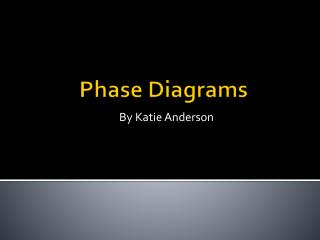 Phase Diagrams