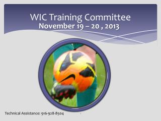 WIC Training Committee
