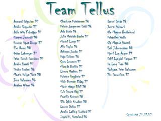 Team Tellus