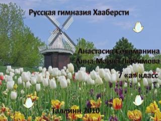 Русская  гимназия  Хааберсти