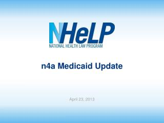 n4a  Medicaid Update