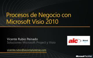 Procesos  de  Negocio  con  Microsoft Visio 2010