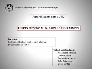Universidade de Lisboa - Instituto de Educação