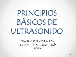 PRINCIPIOS BÁSICOS DE ULTRASONIDO