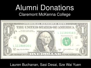 Alumni Donations Claremont McKenna College