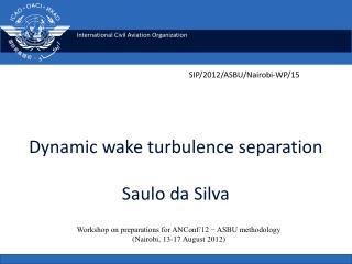 Dynamic wake turbulence separation Saulo  da  Silva