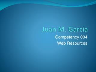 Juan M. Garcia