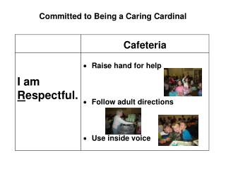 Committed to Being a Caring Cardinal