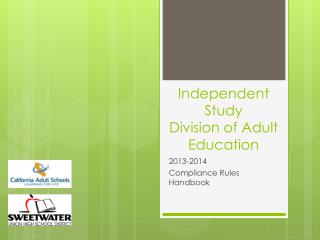 Independent Study Division of Adult Education