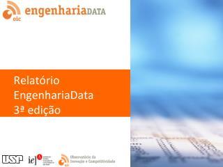 Relatório EngenhariaData 3ª edição