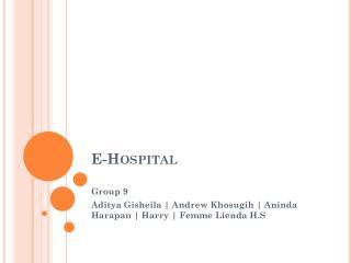 E-Hospital