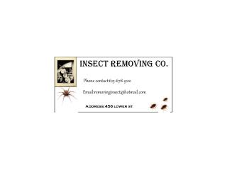 Insect removing co.